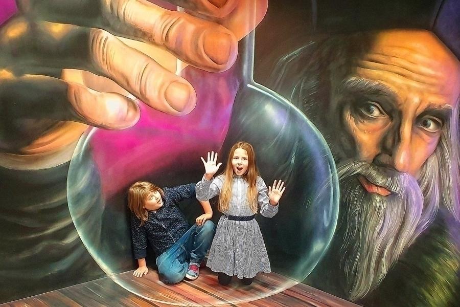 Celoroční vstupenka do jedinečného Muzea fantastických iluzí
