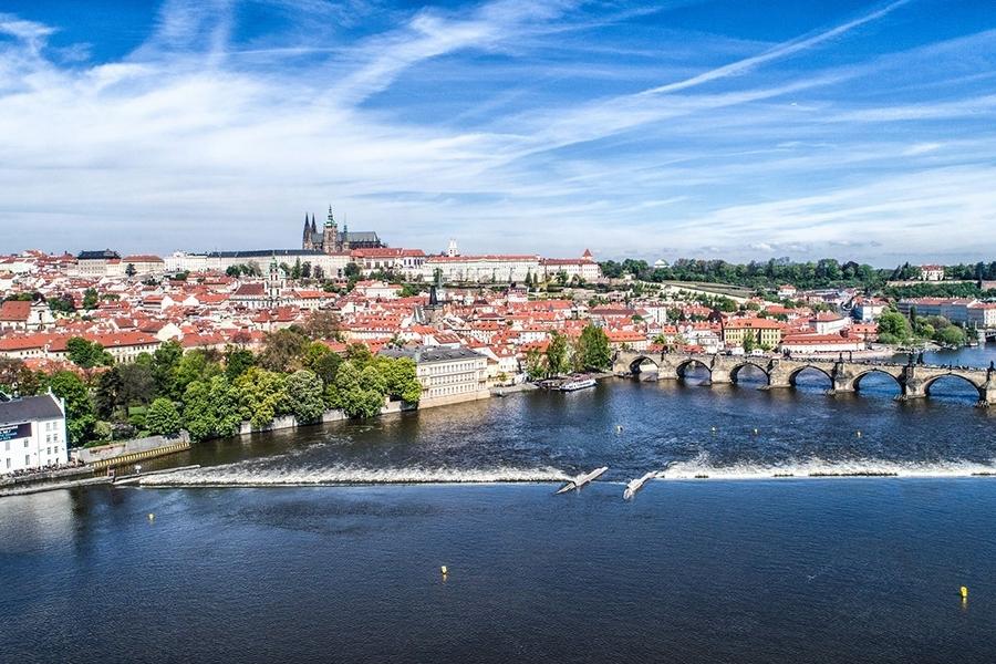 50minutová plavba lodí po Vltavě