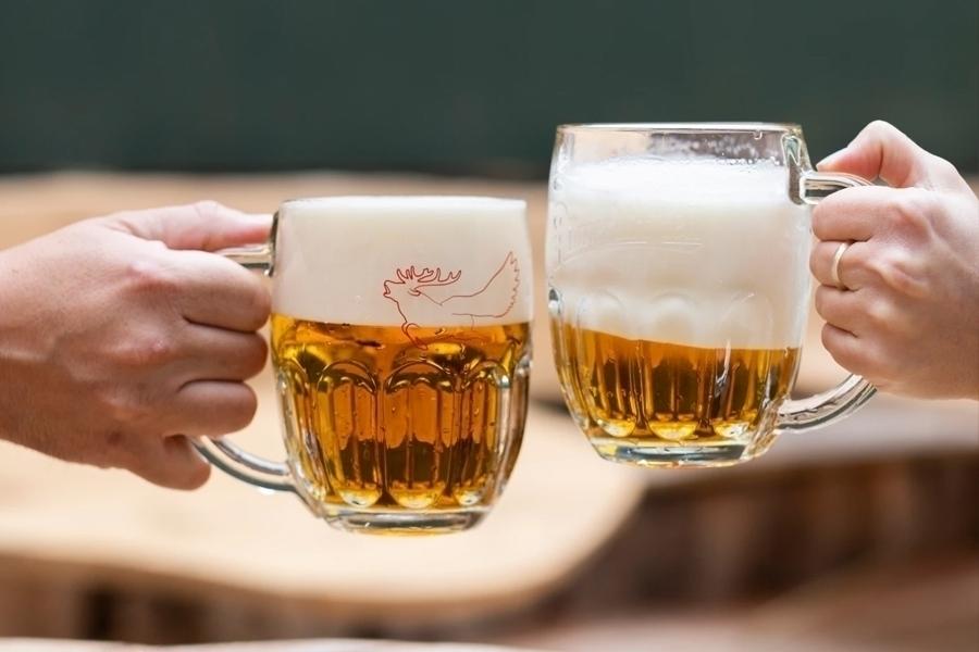 Škola čepování piva pro celou partu s neomezenou konzumací