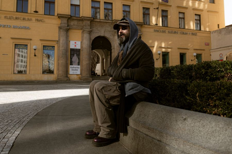 Dárkový poukaz na prohlídku Prahy s lidmi bez domova
