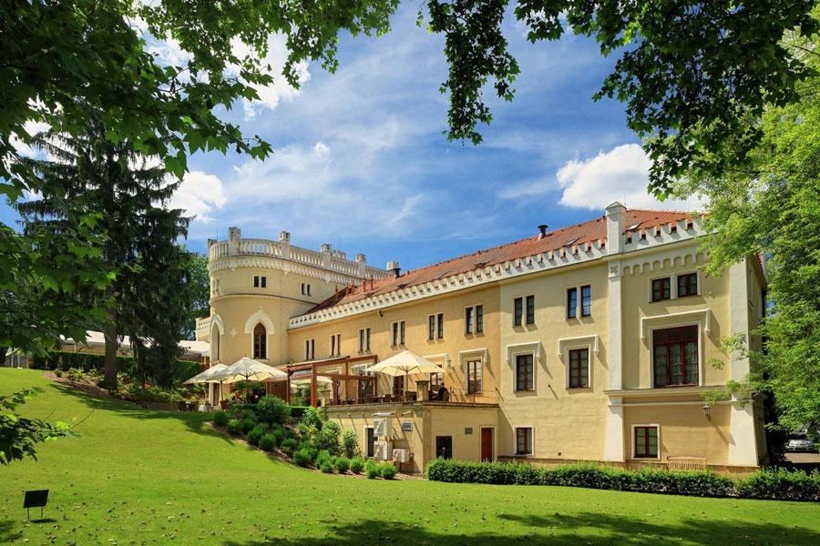 Škola vaření s Ondřejem Slaninou v Chateau St. Havel v Praze