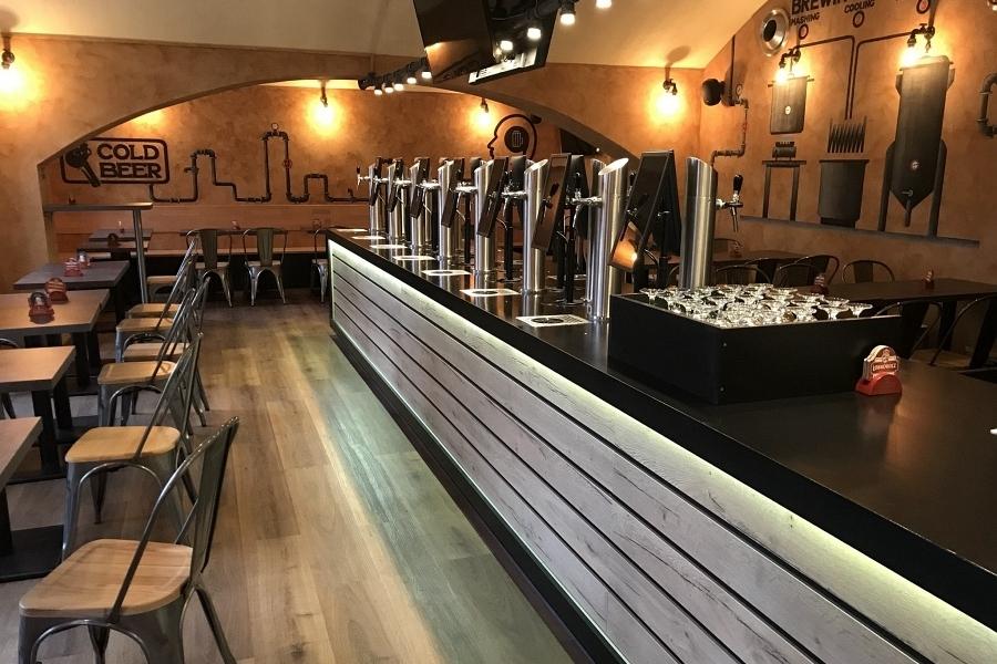 Pivní degustační karta na konzumaci v Beer Point Prague