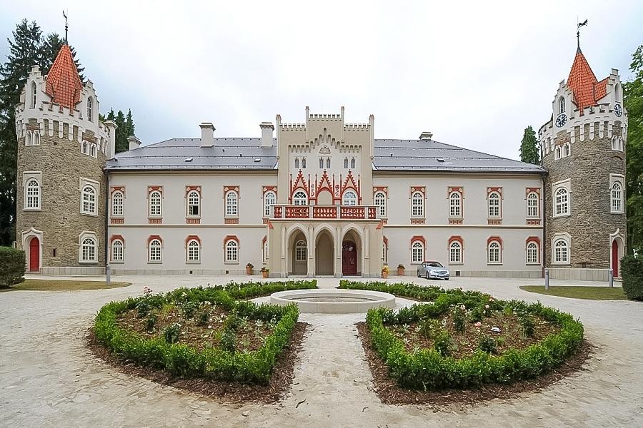 Chateau Herálec - Vysočina - ilustrativní foto